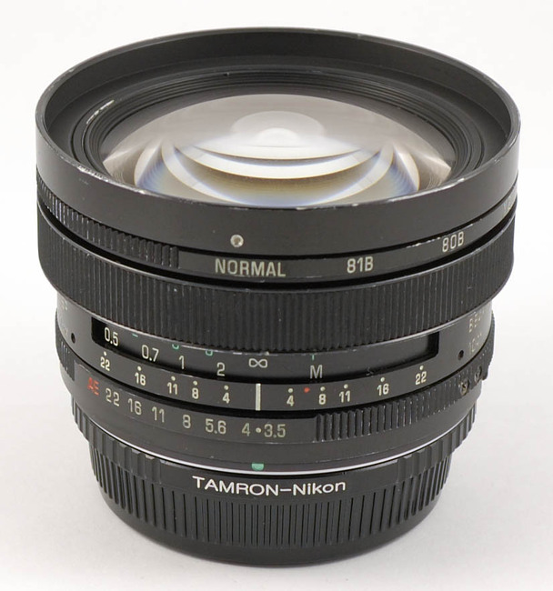 Tamron SP 17mm F/3.5 Adaptall-2 Model 51B, Overview, Tech