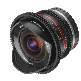 Samyang 8mm T/ 3.1 UMC Fish-eye II Cine
