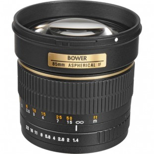 Bower 85mm f/1.4 Aspherical IF