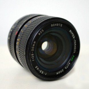 Paragon 28-50mm f/3.5-4.5 PMCSuper Auto Zoom