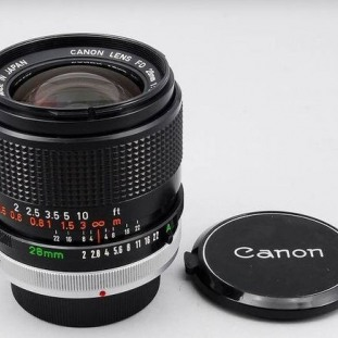 Canon FD 28mm f/2 SSC