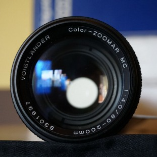 Voigtlander Color-Zoomar 80-200mm f/4 MC