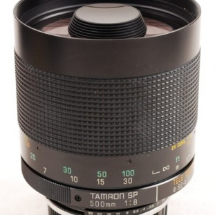 Tamron SP 500mm f/8 Adaptall-2 model 55BB