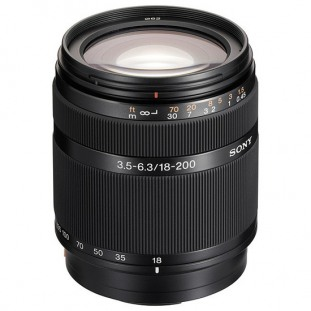 Sony DT 18-200mm  f/3.5-6.3