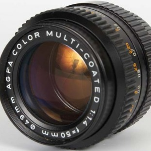 Agfa Color 50mm f/1.4 Multi-Coated